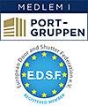 Medlem i Portgruppen och EDSF.