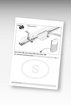 Manual portöppnare duovision