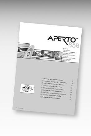 Manual portöppnare APERTO 868