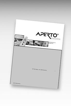 Manual portöppnare APERTO baseline+
