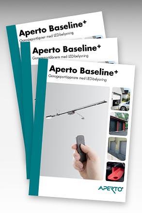 Aperto Baseline plus portöppnare garageportöppnare