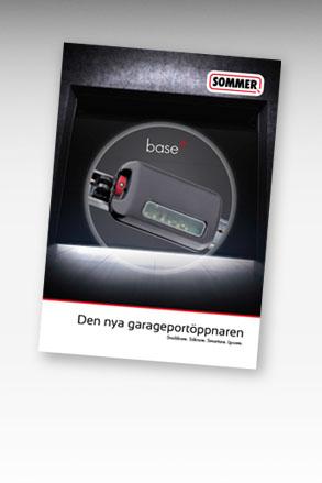 SOMMER base+ portöppnare garageportöppnare portautomatik